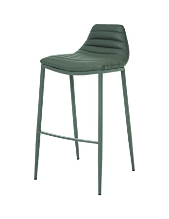 Impacterra Pastel Furniture Grand Plaza Barstool, 30u0026quot;, Gray/Matte Gray