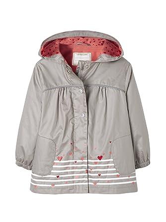 0b00b57c00049b Vertbaudet Vertbaudet Jacke für Mädchen, Fleecefutter grau 116 ...