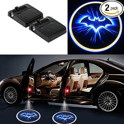 Led Lights For Cars >> Amazon Com 2 Pcs Car Door Projector Lights Superadater Universal
