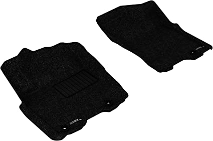 Passenger 2016 Chrysler Town /& Country Black with Red Edging Driver 2014 4 Piece Floor 2nd /& 3rd Row GGBAILEY D60297-LSA-BLK/_BR Custom Fit Car Mats for 2012 2013 2015