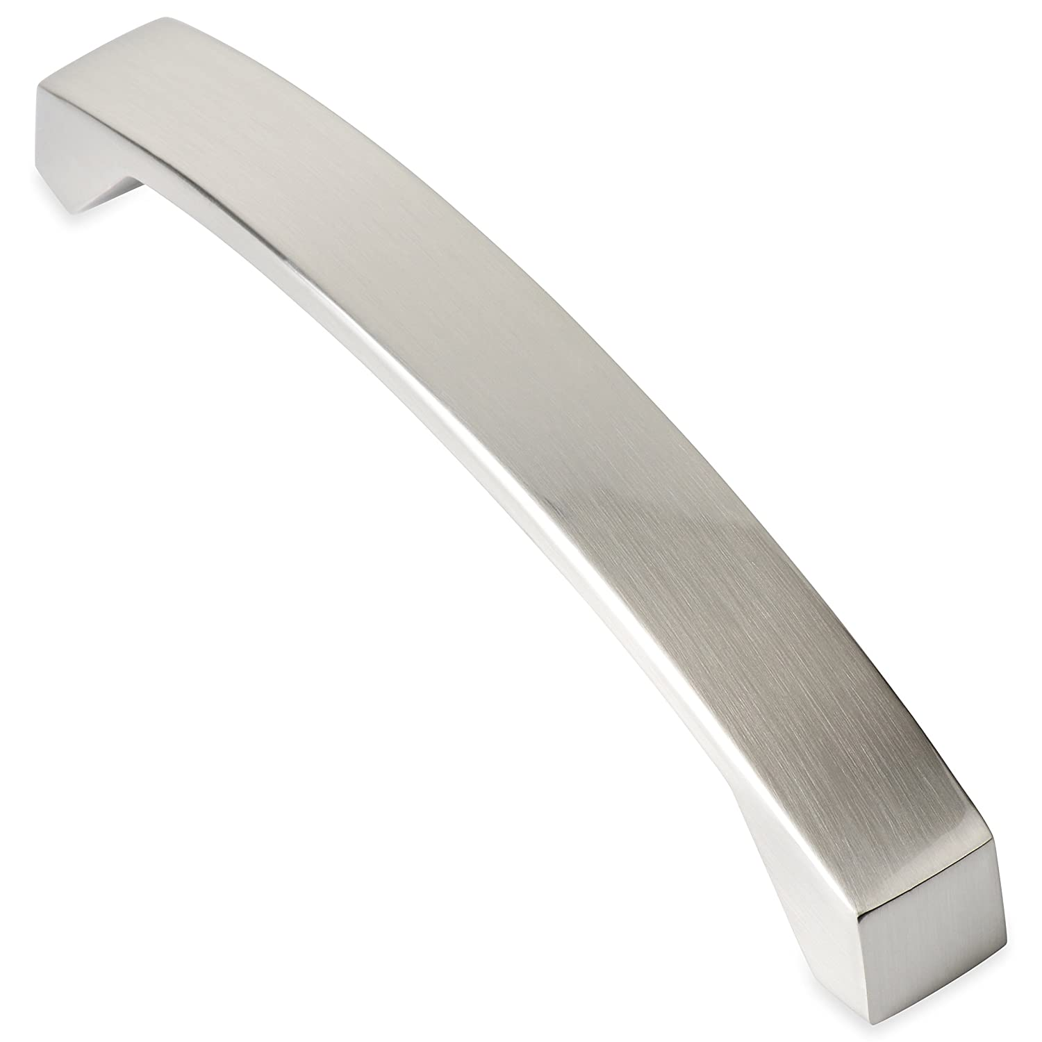 Southern Hills Wide Brushed Nickel Cabinet Pull Drawer Handle ...