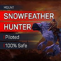 Amazoncom Snowfeather Hunter Mount World Of Warcraft Mount