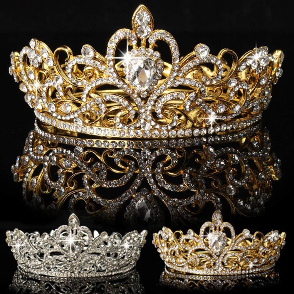 Rhinestones Bridal Crowns Jewelry Crown Crystal Tiaras Wedding Princess Headband