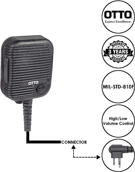 Speaker Microphone for Hytera//HYT TC-500 TC-508 TC-518 TC-600 Two Way Radio