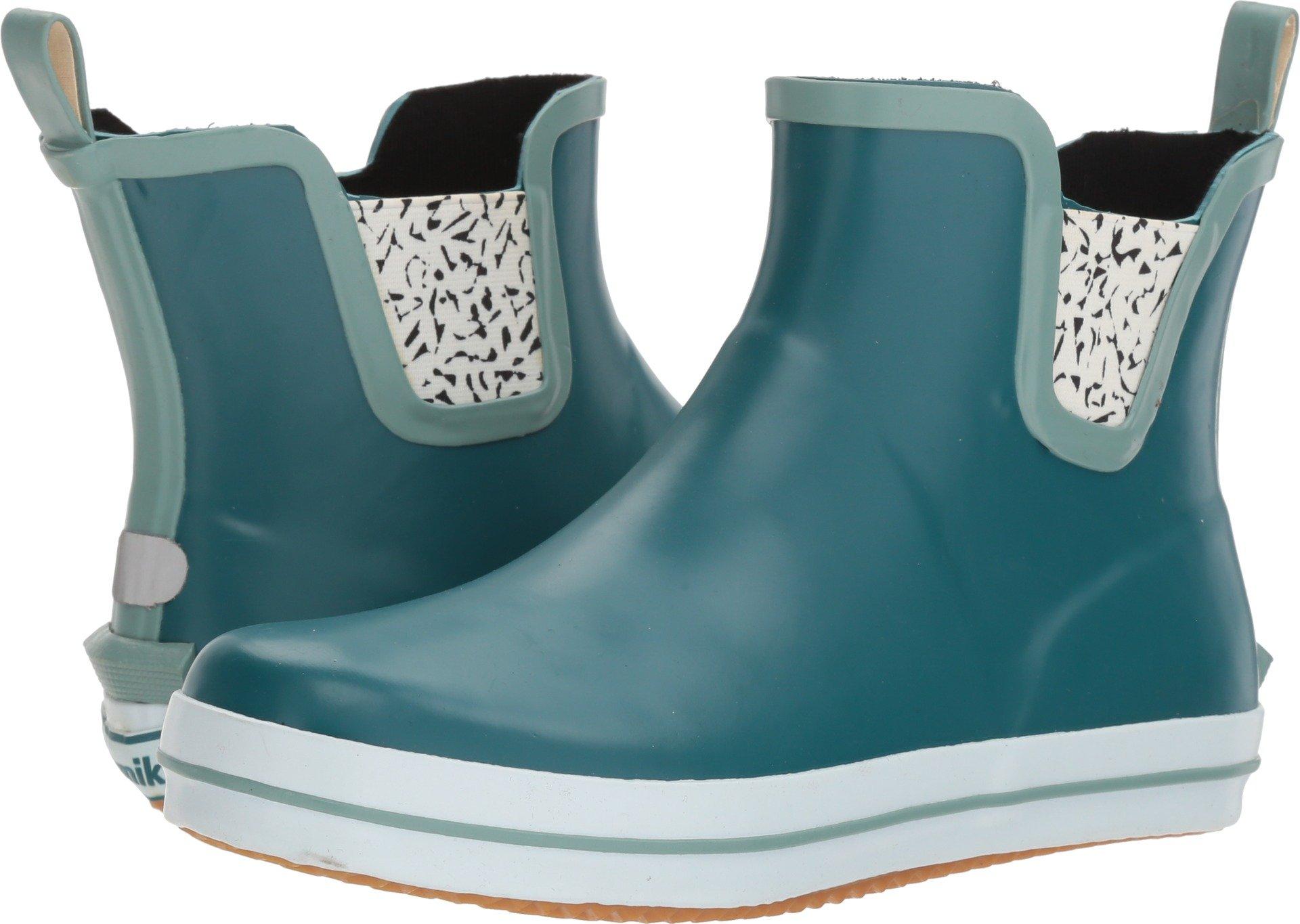 Kamik Women's Sharonlo Rain Boot, Teal, 8 Medium US