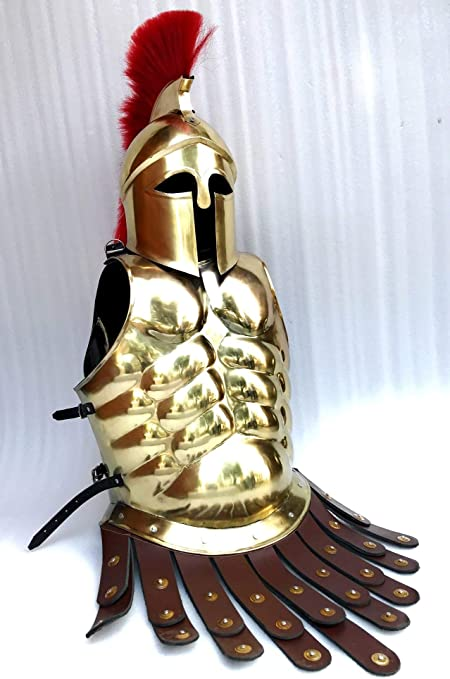 armor medieval breastplate roman muscle armour costume role play cuirass jacket