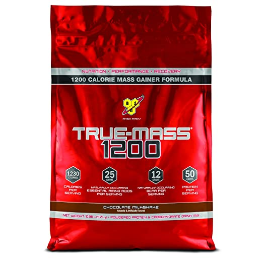 BSN TRUE-MASS 1200- Chocolate Milkshake, 10.38 lb (15 Servings)