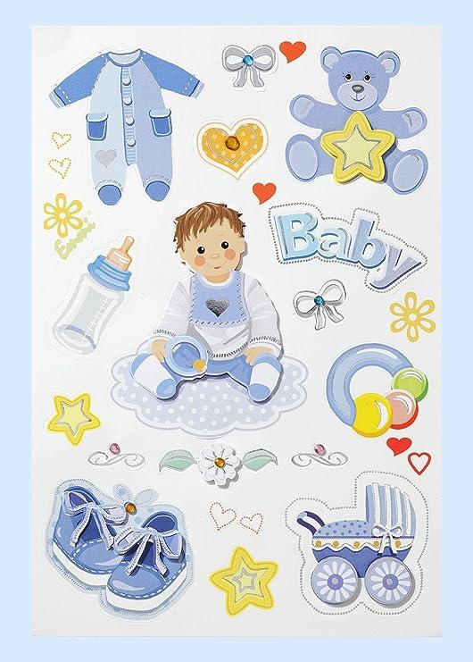 Stickerbogen zur Geburt Taufe Aufkleber Sticker Kartenbasteln Taufsticker