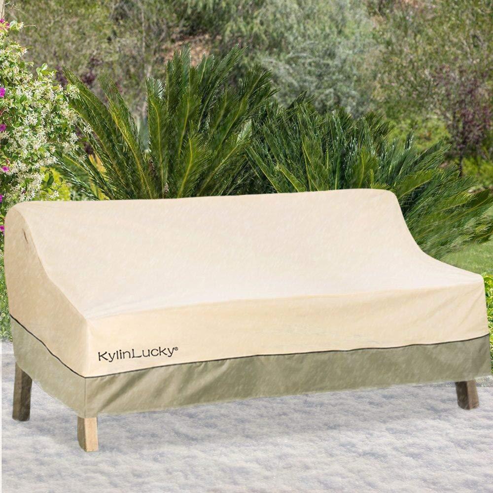 Amazon.com: KylinLucky - Funda para sofá de exterior, L ...