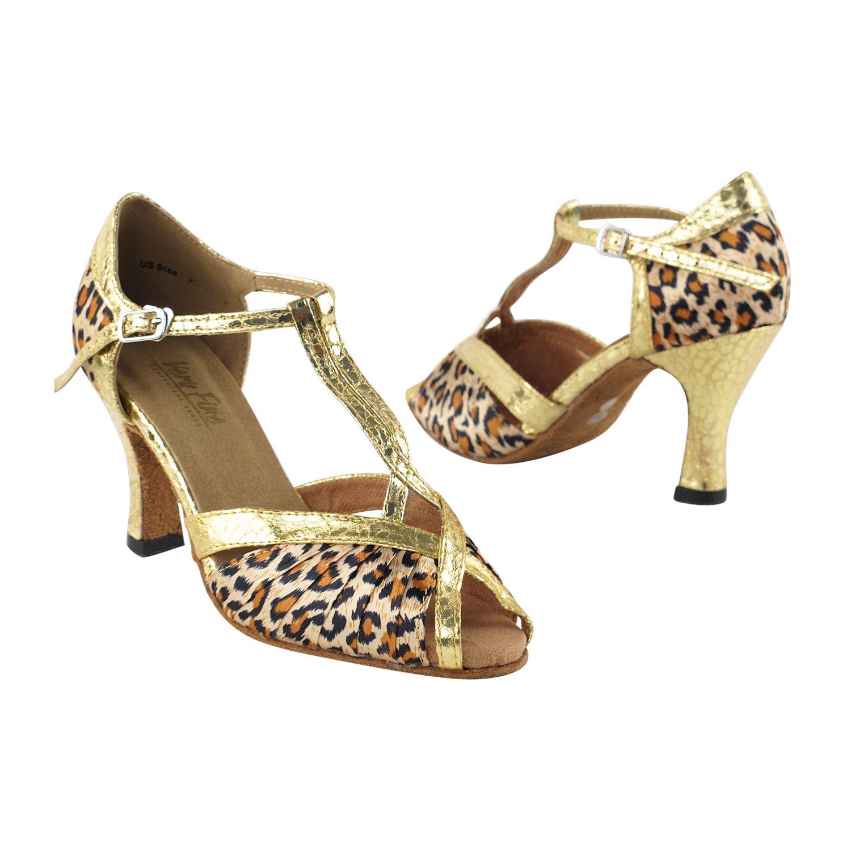 世界有名な [Very Fine Dance Shoes] レディース B0756GS3DZ Heel 2.5