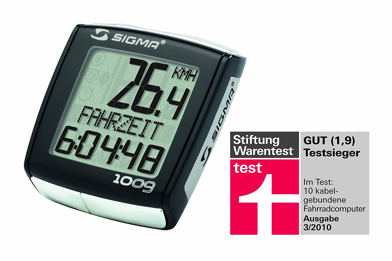 Fahrradcomputer Großes Display : Sigma fahrrad computer bc 1009 schwarz: amazon.de: sport & freizeit
