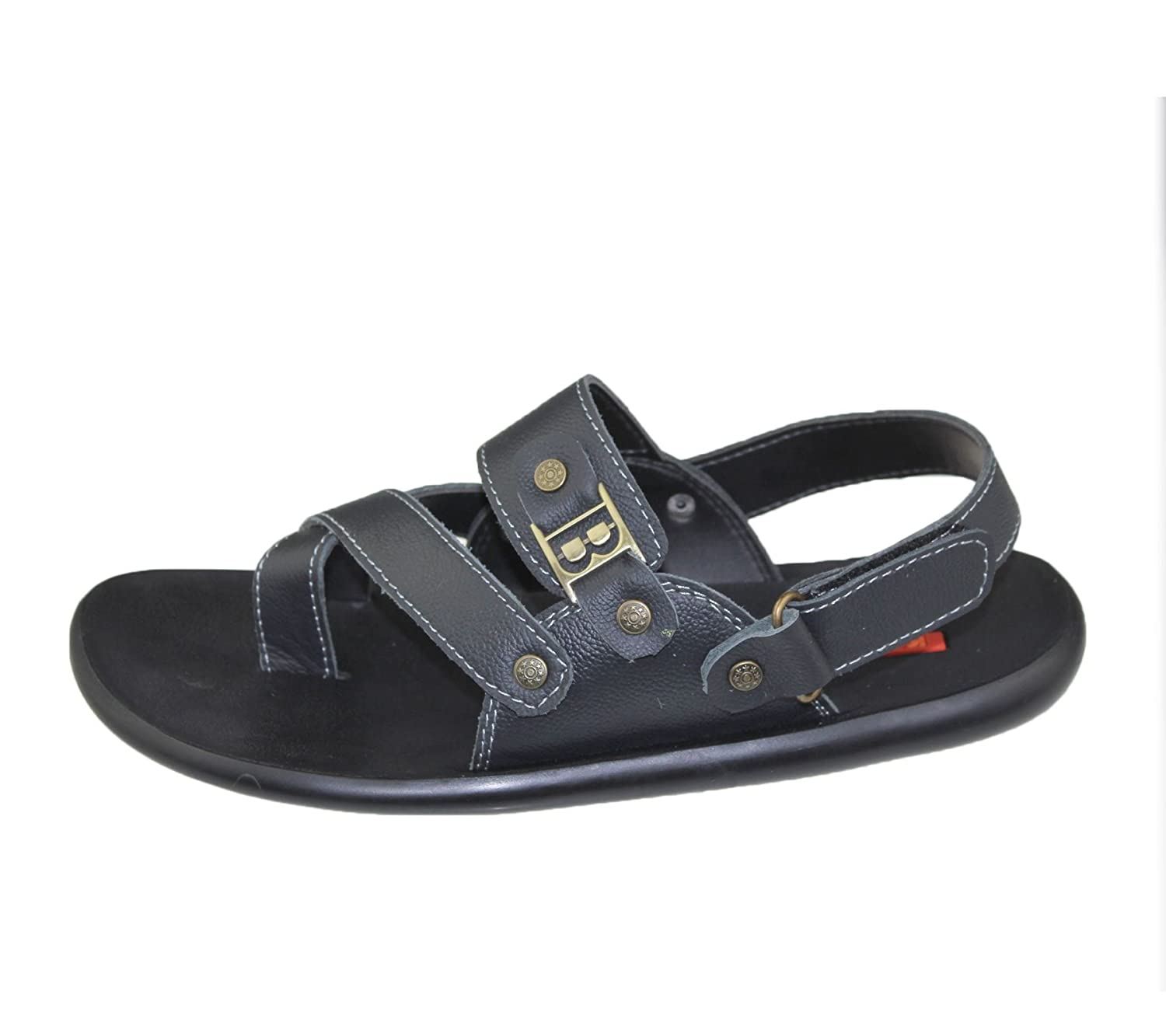 Mens Sandals Casual Beach Fashion Walking Velcro Flat Comfort Shoes Slipper  Size: Amazon.co.uk: Shoes & Bags