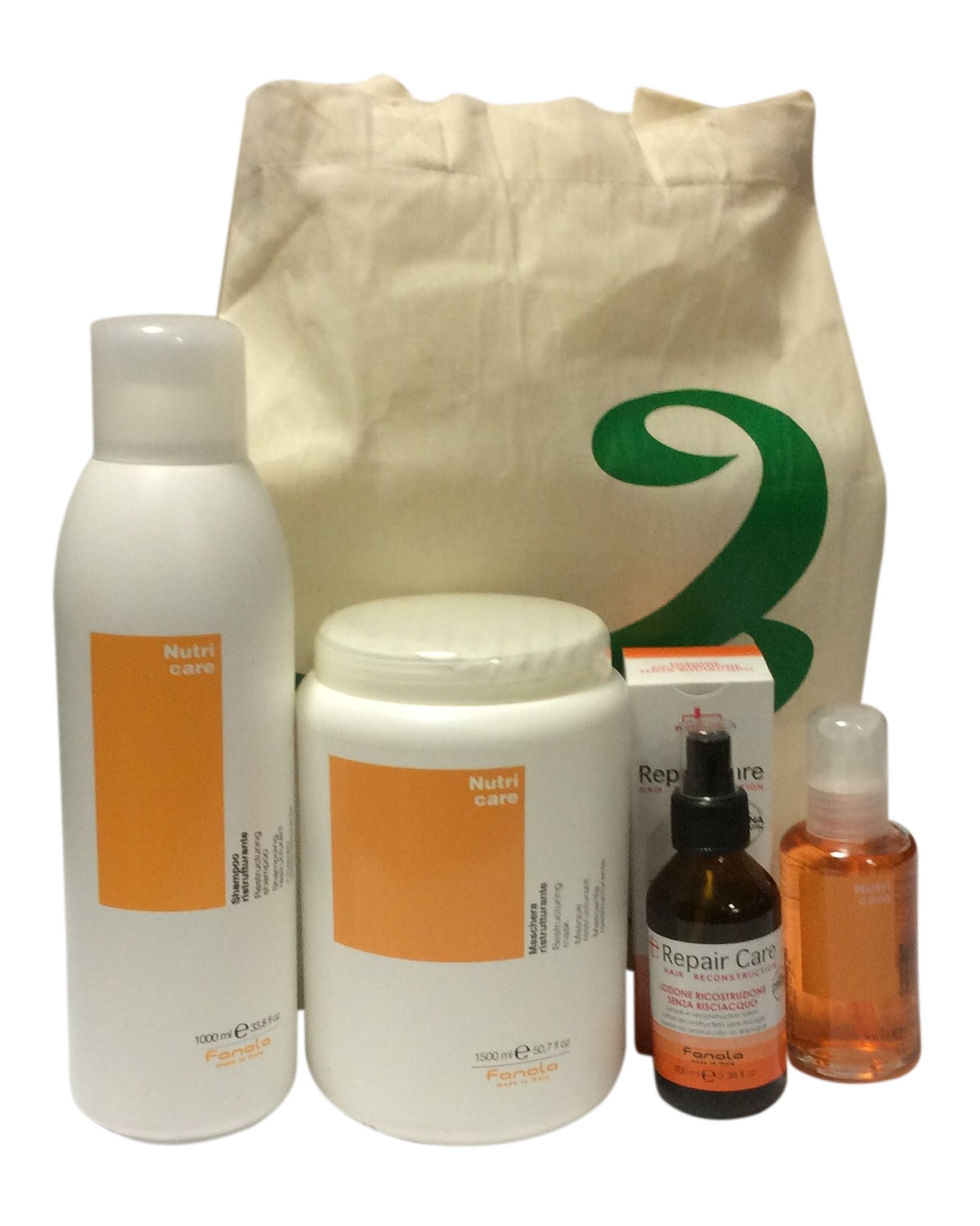 Fanola Nutri Care Restructuring Kit for Very Dry Hair Made in Italy