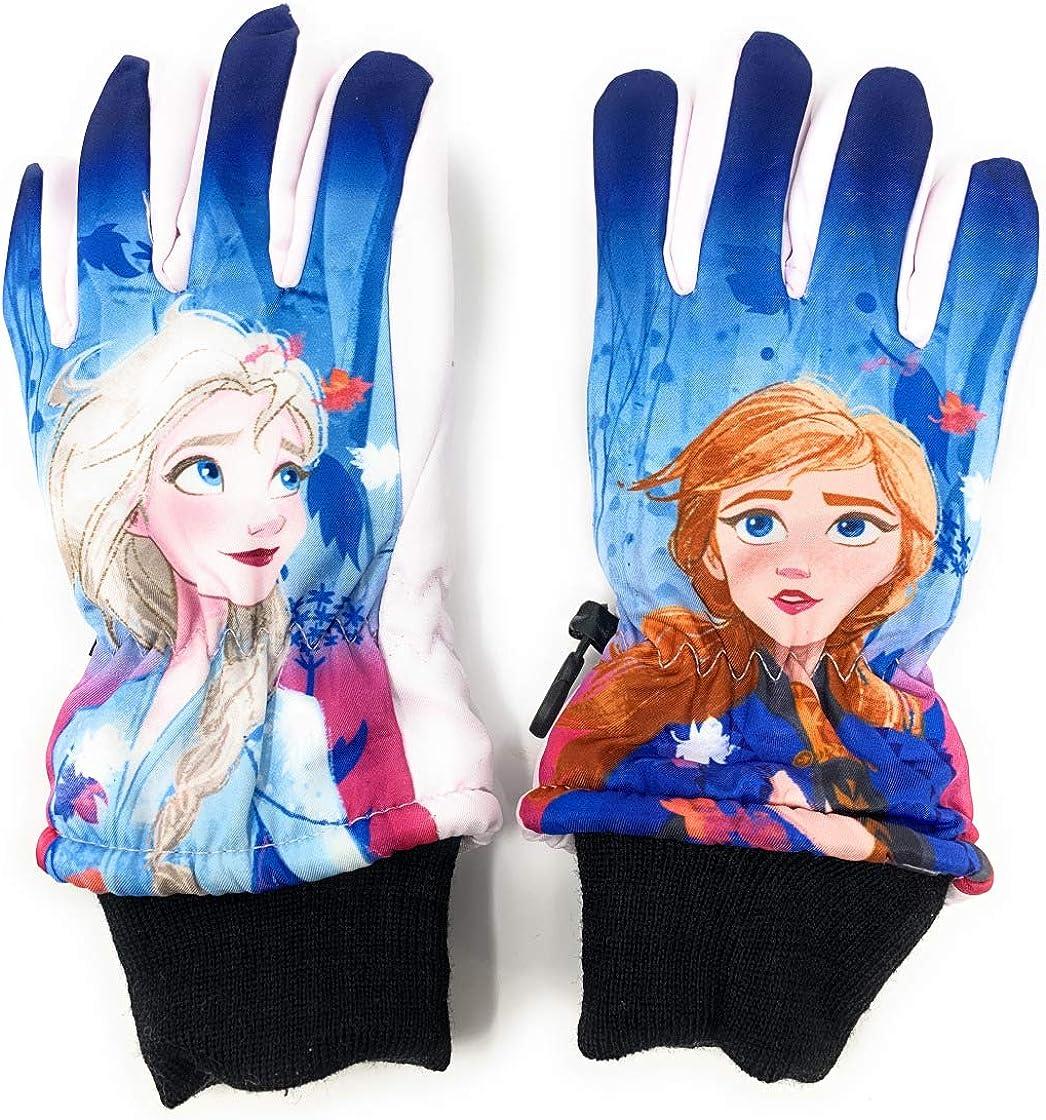 Blau und Rosa von 3 bis 8 Jahren M/ädchen Cerda Skihandschuhe f/ür Kinder Die Eisk/önigin