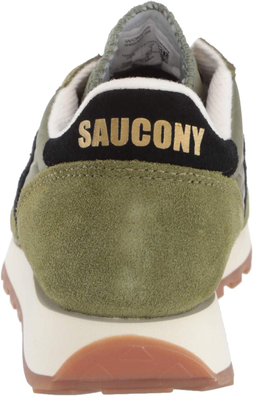Saucony Jazz Original Vitnage, Scarpe da Ginnastica Basse Donna Verde Verde 99