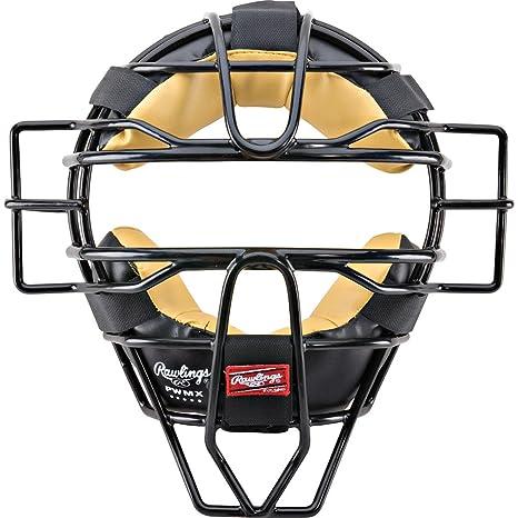 amazon com rawlings pwmx face mask black baseball catchers
