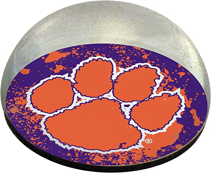 2 NCAA Clemson Tigers Crystal Pyramid