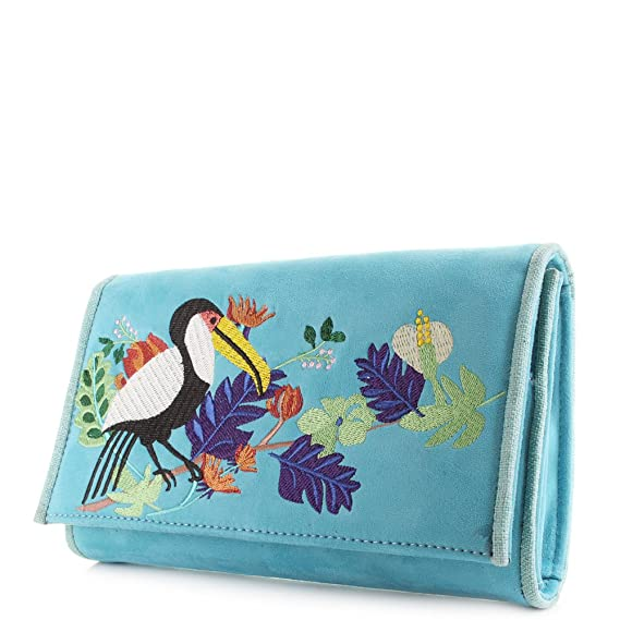 Womens Birdy Beauty Travel Wallet Wallet Orange (Orange) Irregular Choice Rk3mR