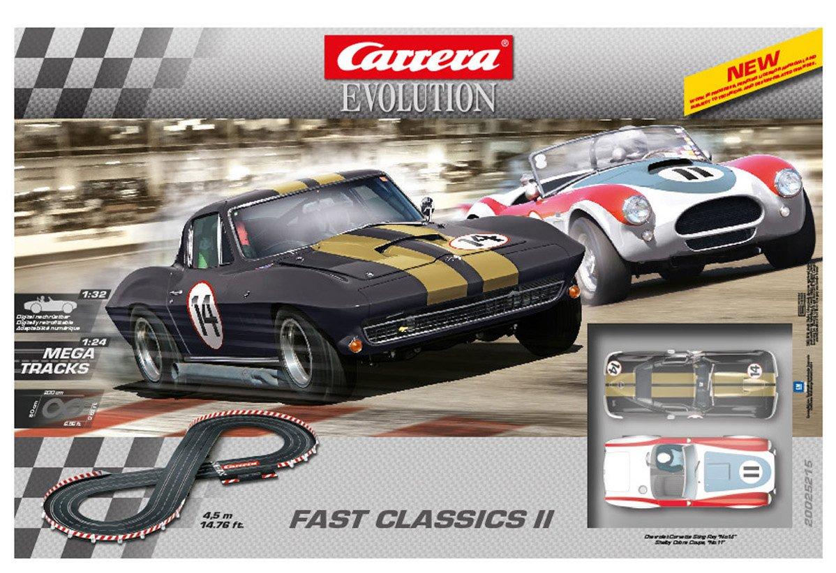 Carrera Evolution - Fast Classics II Play Set