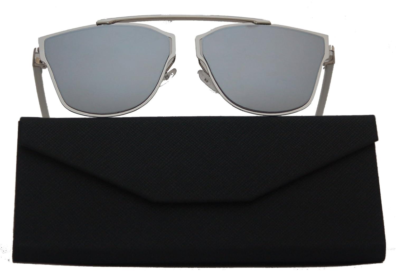 DASOON Gafas de sol So Real espejo plateado unisex ...