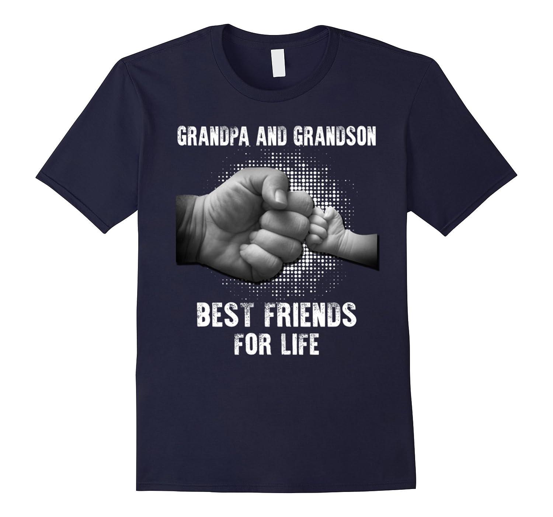 Funny Grandpa And Grandson Gifts T-Shirt Mens Womens Kids