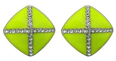 f5875207ba2dc Shreya Collection Neon Yellow (Greenish Tone) Colour with White ...