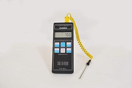 Omega HH21 Precision Digital Thermometer for Thermocouple, K