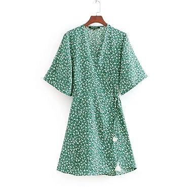 Turquoise Fringe Dress with Sleeves