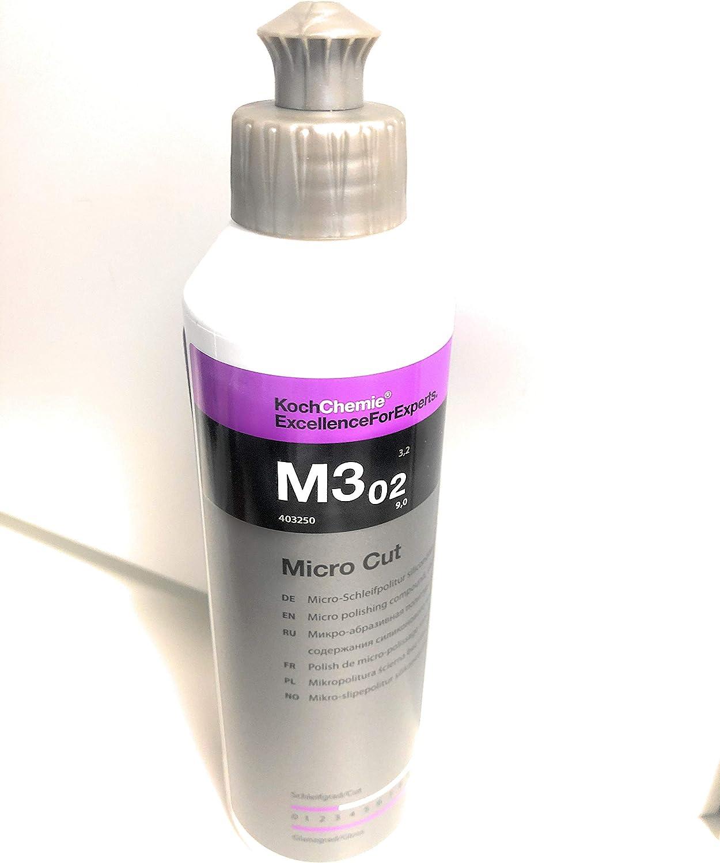 Micro Cut M3 02 Koch Chemie Politur Micro Schleifpolitur Siliconfrei Antihologramm 250 Ml Auto