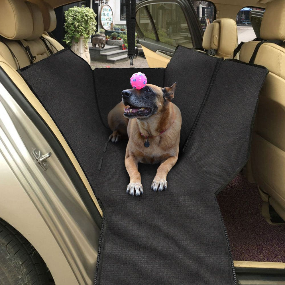 rear outdoor cover bench for black car hammock style dogs dog waterproof pet seat