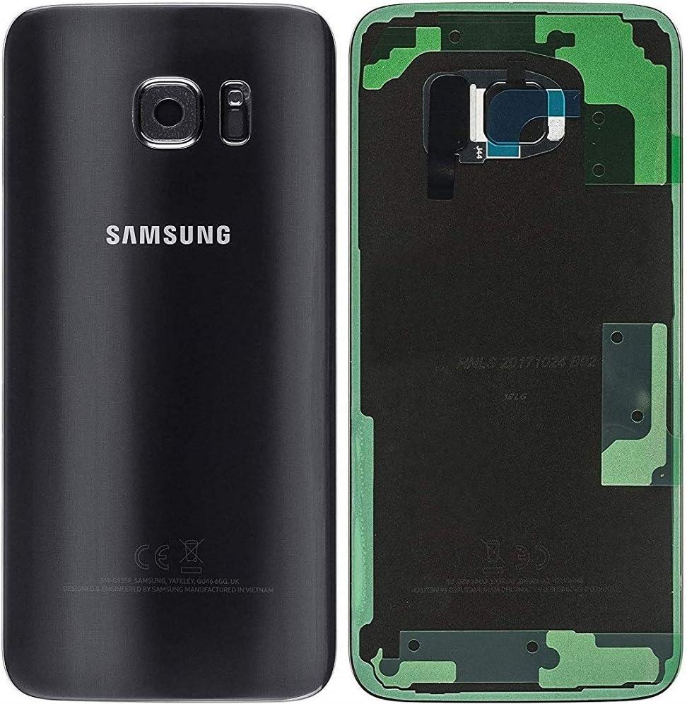 Original Tapa para batería para Samsung Galaxy S7 EDGE G935F Negro ...