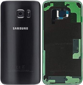 Original Tapa para batería para Samsung Galaxy S7 EDGE G935F Negro Tapa Trasera Tapa de batería /lente de la cámara / lámina adhesiva /de Herramientas: Amazon.es: Electrónica