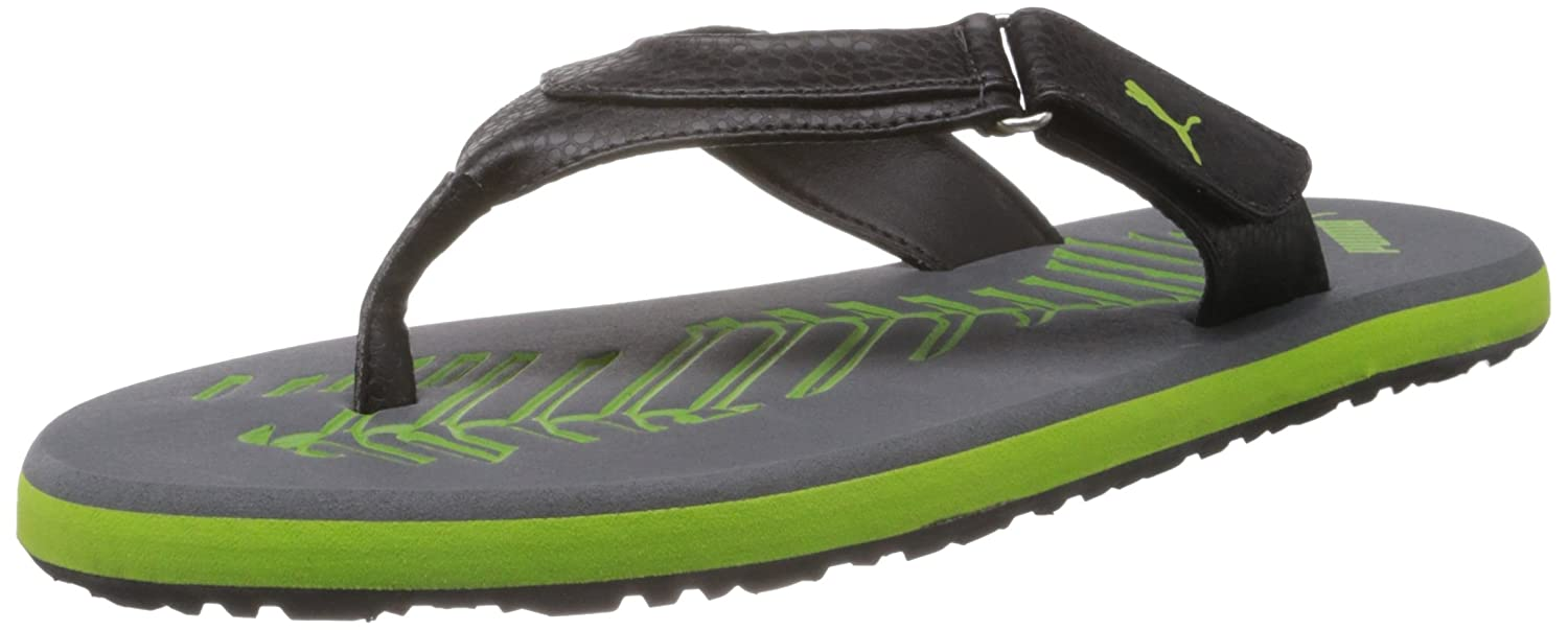 6eab7cf8900 Puma Men s Breeze 4 Ind Grey Flip Flops and House Slippers - 6 UK India (39  EU)  Buy Online at Low Prices in India - Amazon.in