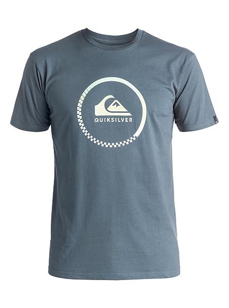 Quiksilver ClasT-Shirt - Camiseta - Hombre - XS - Azul  Quiksilver  Amazon. es  Ropa y accesorios 4e1ae4bac2f