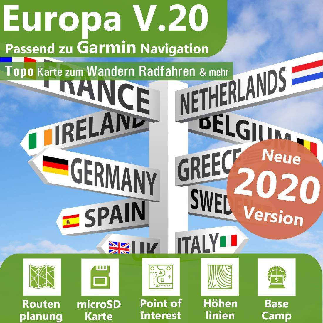 Europa Profi Outdoor Topo Karte Topografische Outdoor