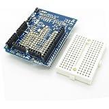 K10 ProtoShield Expansion Board with Mini PCB Breadboard for Arduino Duemilanove