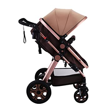 Amazon.com: Happybuy cochecito de bebé portátil de lujo ...