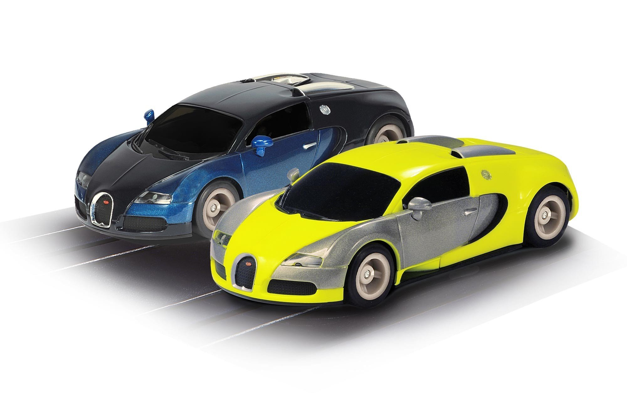 Scalextric Micro Hyper-Cars Race Set (1: 64 Scale)