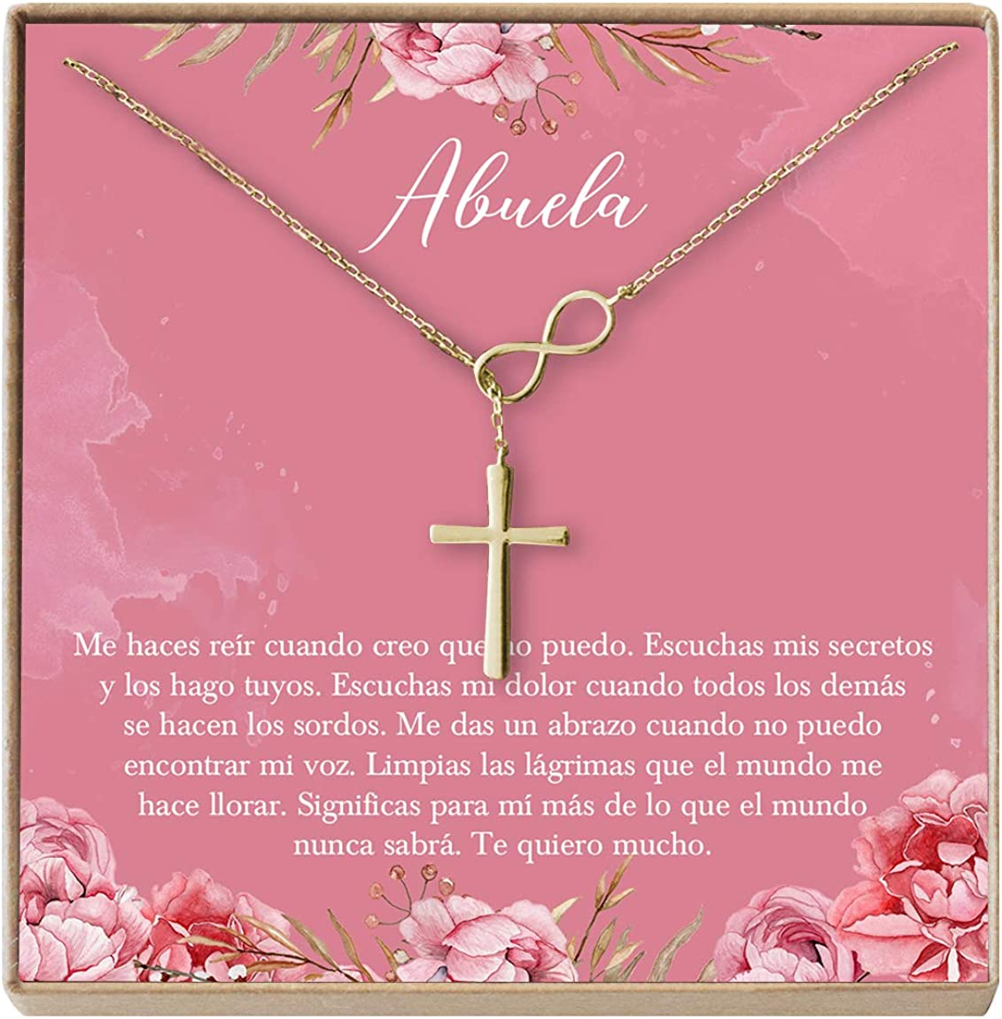 Amazon.com: Collar Regalo para Abuela, Día de la Madre ...