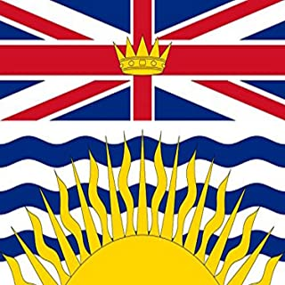 product image for Annin Flagmakers 220105 Nyl-Glo British Columbia Flag, 3-Feet by 6-Feet