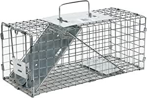 Havahart 1077 Small Professional Style One-Door Animal Trap for Squirrel, Rabbit, Skunk, and Mink