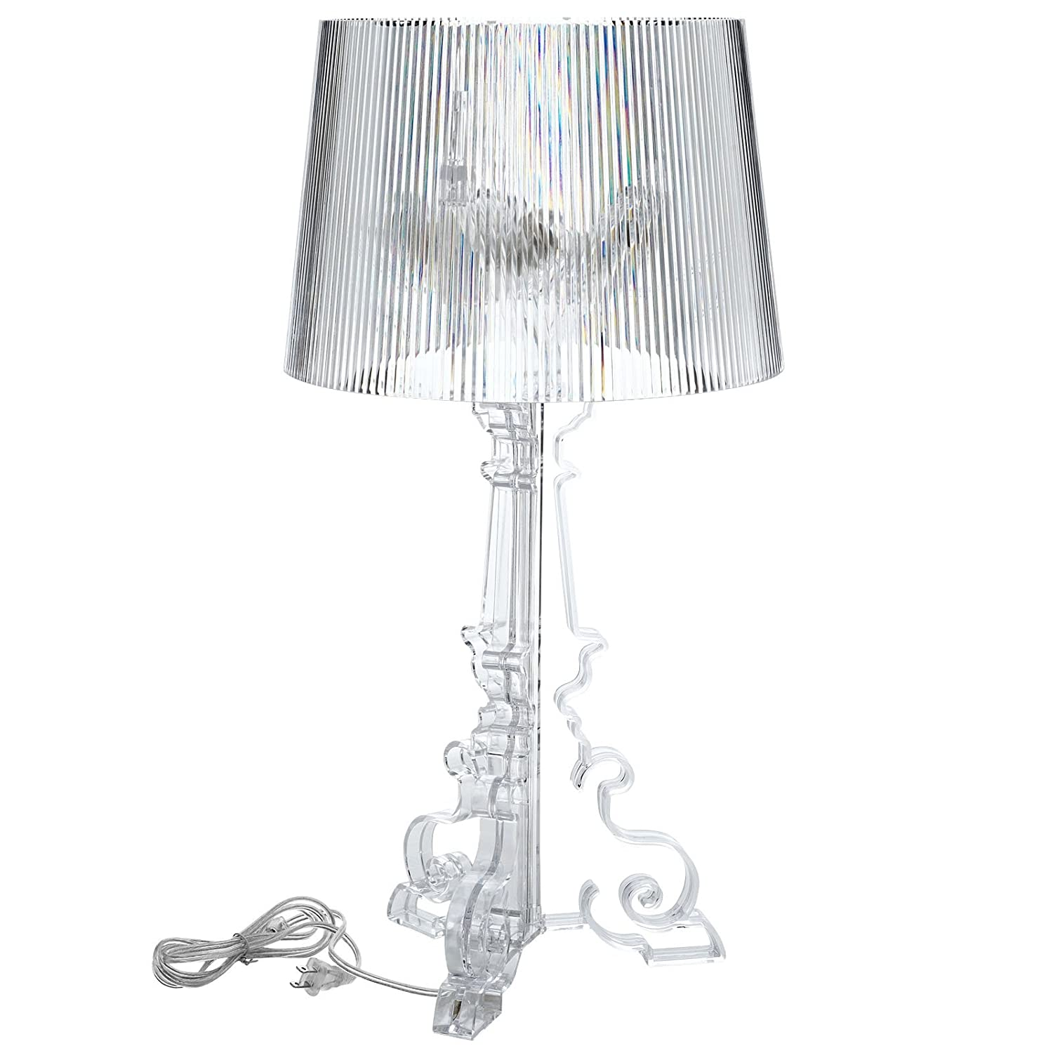 lexmod bourgie style acrylic table lamp in clear amazonca home  - lexmod bourgie style acrylic table lamp in clear amazonca home  kitchen