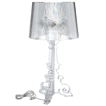 Amazon modway bourgie style acrylic table lamp in clear home modway bourgie style acrylic table lamp in clear aloadofball Image collections