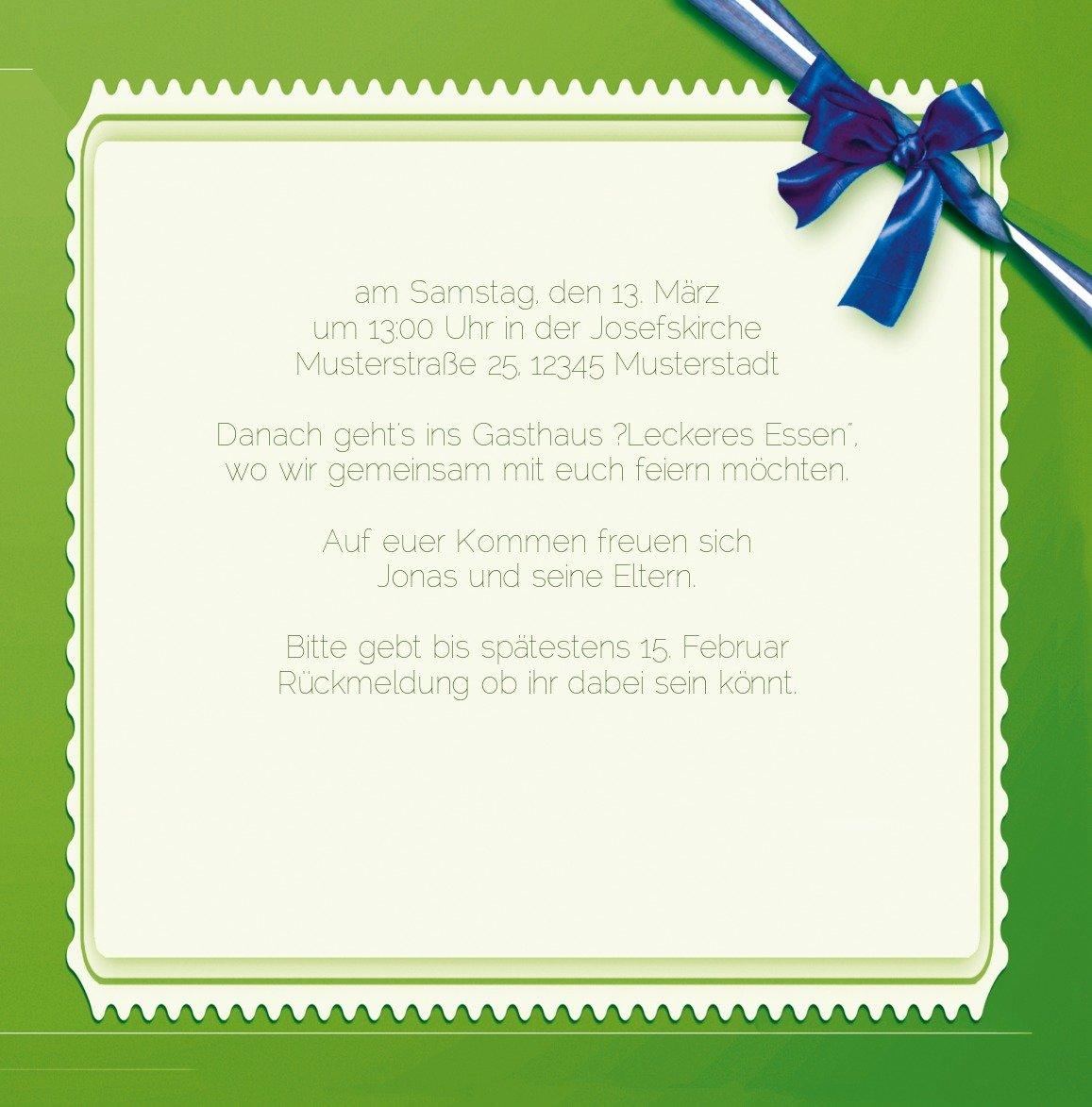 Kartenparadies Kartenparadies Kartenparadies Einladungskarte Taufeinladung Taufkarte Ribbon, hochwertige Einladung zur Taufe inklusive Umschläge   10 Karten - (Format  145x145 mm) Farbe  Rosalila B01MUGKRFA | Moderne Muster  | Genial  | Online Shop Europe  ea6d19