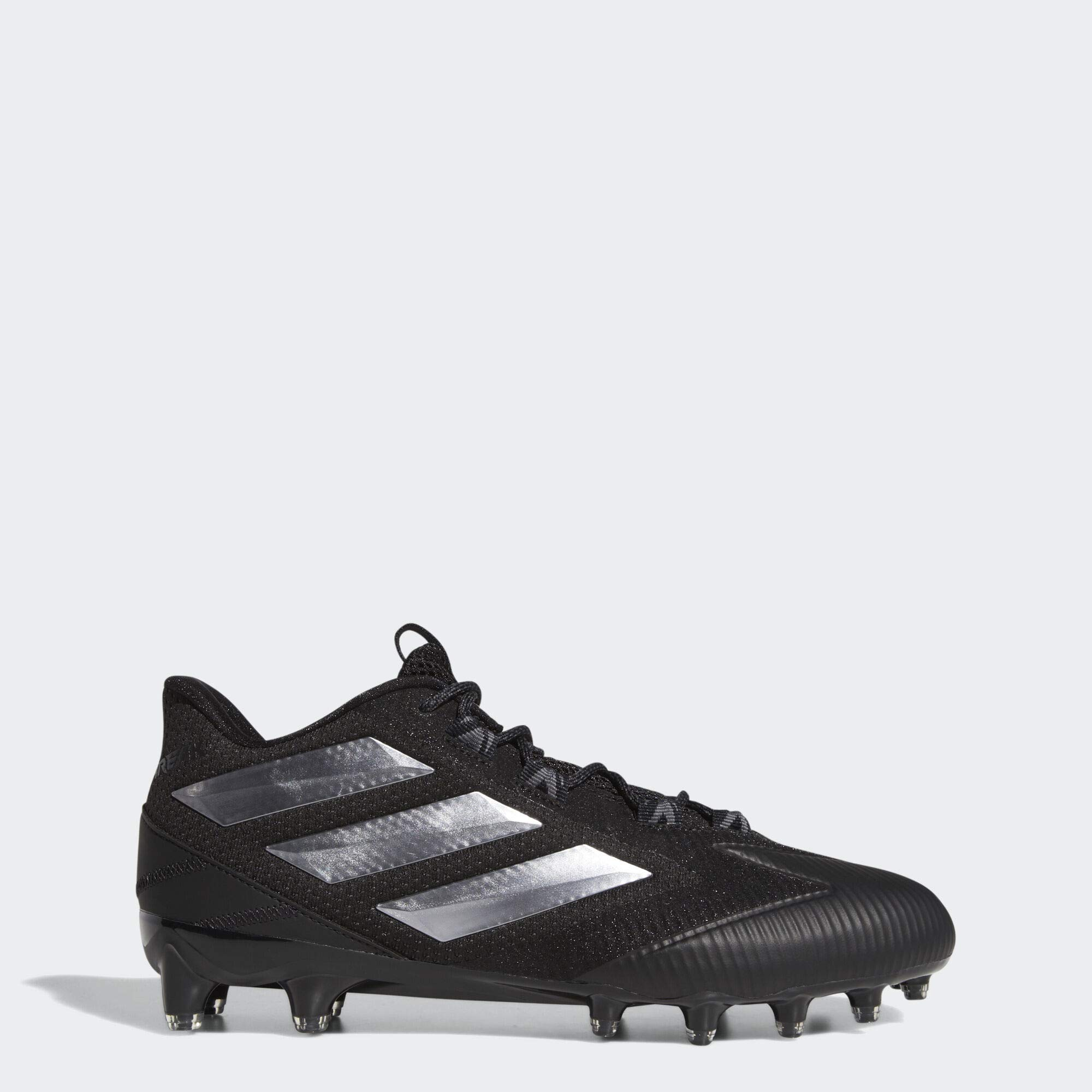 adidas Men's Freak Carbon Low Football Shoe, Black/Night Metallic/Grey, 9.5 M US by adidas