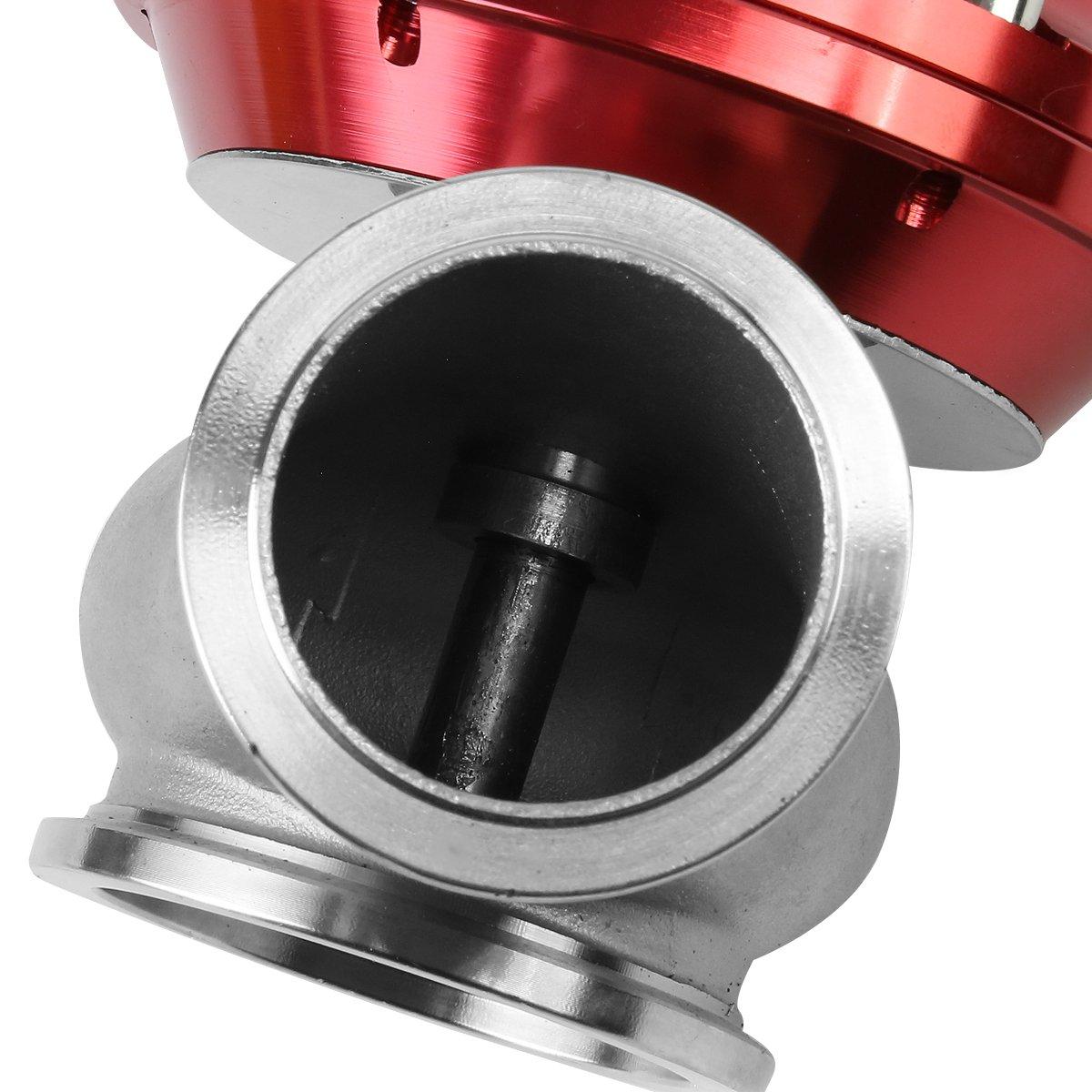 DNA Motoring WG-TL-44MM-RD 44mm External Turbo Manifold Wastegate