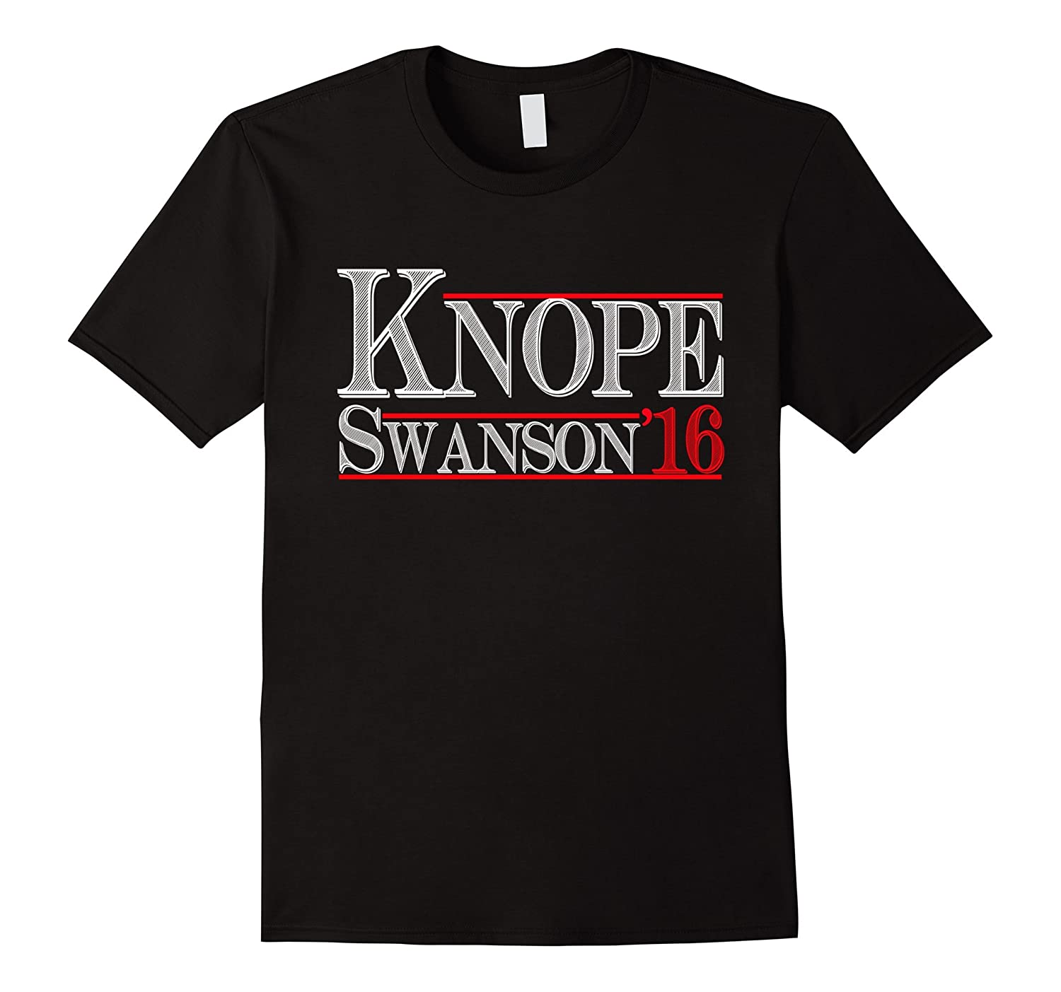 knope swanson 2016 t shirt election campaign tee goatstee. Black Bedroom Furniture Sets. Home Design Ideas