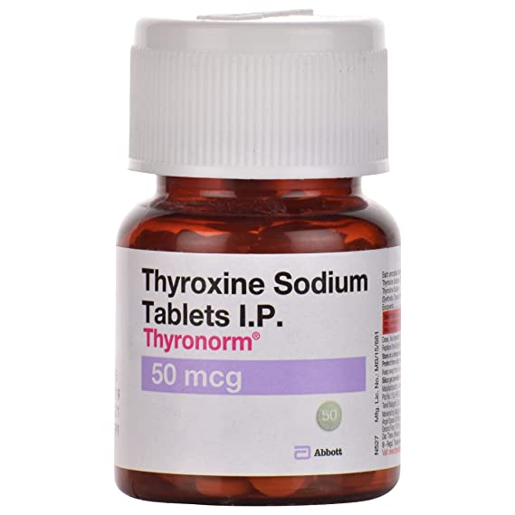Thyronorm 50 Bottle Of 120 Tablets Amazon In