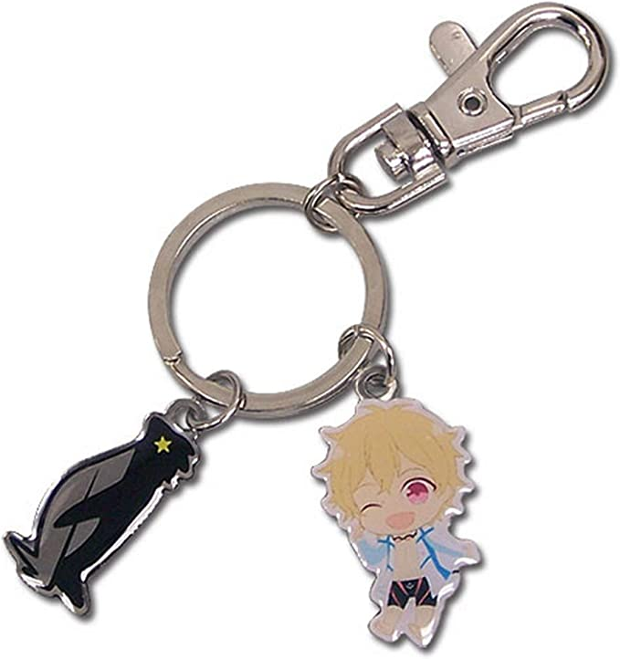 Great Eastern Entertainment World Conquest Zvezda White Light Metal Keychain