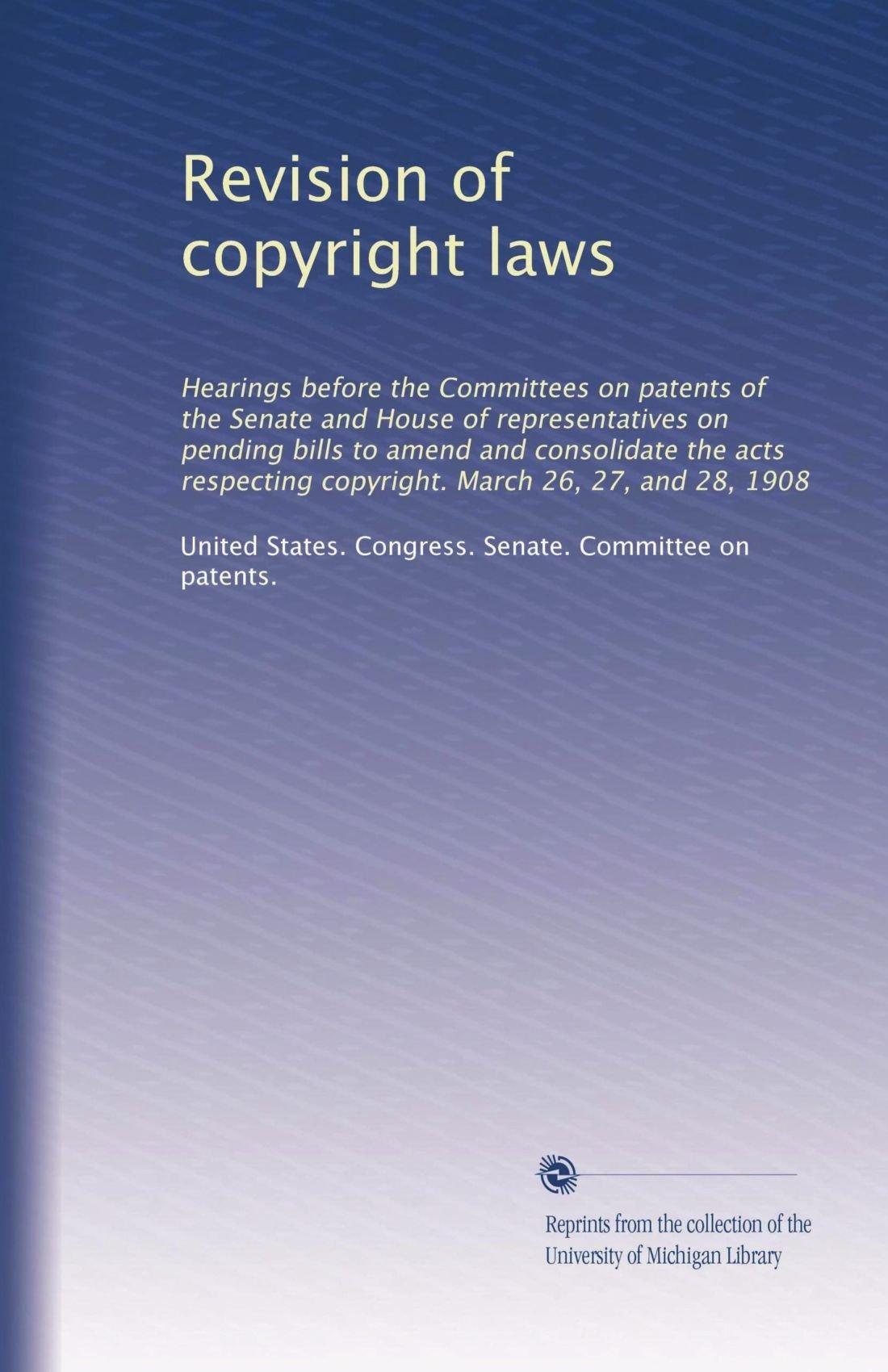 Revision of copyright laws pdf epub